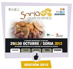 Imagen de la edición 2012 de Soria Gastronómica