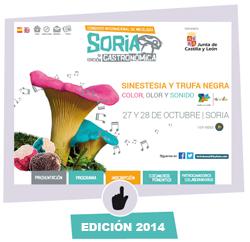 Imagen de la edición 2014 de Soria Gastronómica