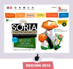 Imagen de la edición 2016 de Soria Gastronómica